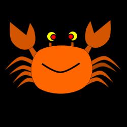 Clipart - crab