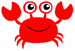 easy crab silouette Clip Art | crab7 | Baby shower ideas | Pinterest ...