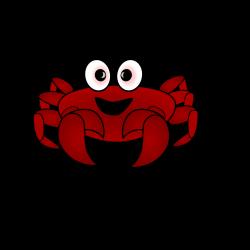 Clipart - Crab Cartoon