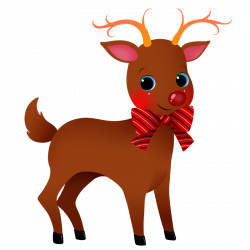 Christmas Deer Clipart at GetDrawings.com | Free for personal use ...