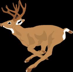 Running Deer Clip Art | Deer running fast clip art | art inspiration ...