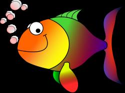 Clipart - Happy fish
