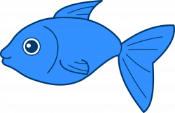 free-fish-clipart-happy_blue_fish.png (6805×4431) | fancy books ...
