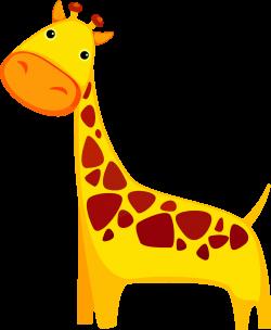 Clipart - Cartoon Giraffe