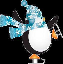 Penguin Ice skating Ice skate Ice rink Clip art - Cartoon penguin ...