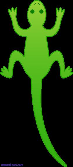 Lizard Green Clipart - Sweet Clip Art