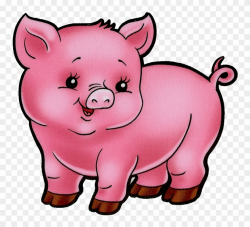 Animal Farm Pig Clipart 3 By Amy - Baby Pig Clipart - Png ...