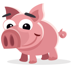 Pig free to use clipart - Clipartix