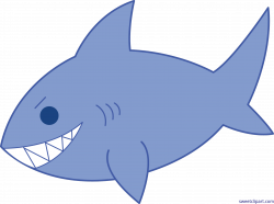 Blue Shark Clip Art - Sweet Clip Art