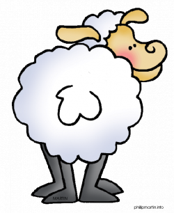 Animals Clip Art by Phillip Martin, Sheep