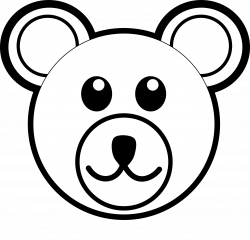 Easy Bear Face Drawing at GetDrawings.com   Free for personal use ...