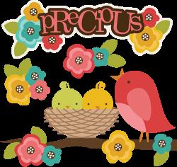 Precious SVG bird clipart bird svg cute clipart cute bird clipart