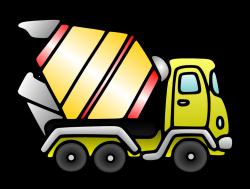 Free domain- Cement Mixer | Clip Art-On The Go! | Pinterest | Cement ...