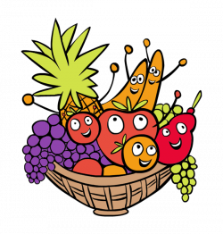 Fruit Basket Clipart at GetDrawings.com | Free for personal use ...