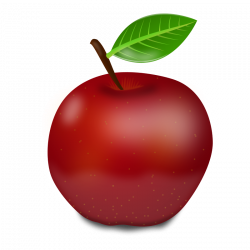 red apple clipart - Free Large Images | Clipart | Pinterest | Red ...