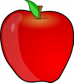 Another Apple Clip Art at Clker.com - vector clip art online ...