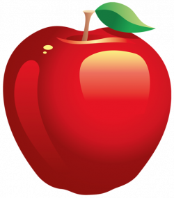 Large Painted Red Apple PNG Clipart | PNG Frames/ Borders/Clipart ...