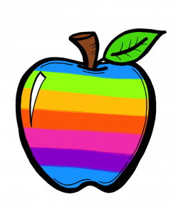 The Creative Chalkboard: FREE Rainbow Apples and New Clipart Sets ...