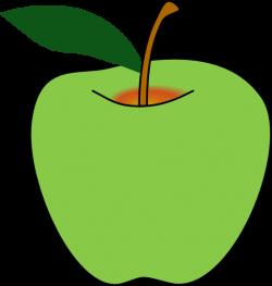 Green Apple Clip Art at Clker.com - vector clip art online, royalty ...
