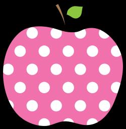 Polka Dot Apple - Encode clipart to Base64