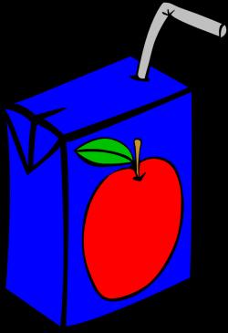 OnlineLabels Clip Art - Fast Food, Drinks, Apple Juice Box