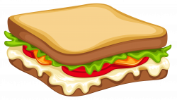 Sandwich PNG Clipart Vector Image | Gallery Yopriceville - High ...