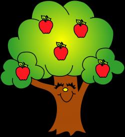 Apple tree clip art - Clipartix