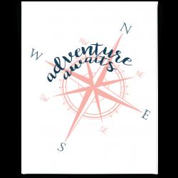 Compass Printable | Pinterest | Adventure awaits, Printable wall art ...