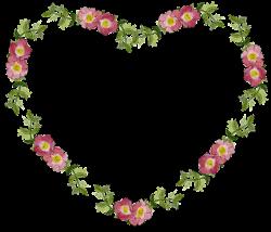 Free Image on Pixabay - Floral, Flower, Frame, Heart | Pinterest ...