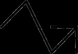 Arrow Graph Progress Analysis Upward Statistics Svg Png Icon Free ...
