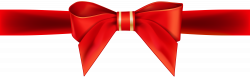 Red Ribbon Bow Transparent PNG Clip Art Image | Gallery ...