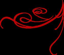 Red Swirls png | Red Decorative Swirl clip art - vector clip art ...