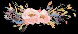 Watercolor Floral Clipart - Motley | Pinterest | Watercolor