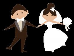 Жених и невеста. Векторный клипарт | Pinterest | Clip art