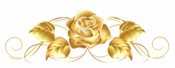 Beautiful Gold Rose Decor PNG Clipart | Clip Art | Pinterest ...