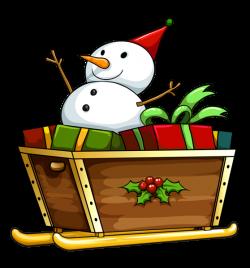 Transparent Christmas Deco Snowman PNG Clipart | Christmas Clip Art ...