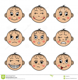 Feeling faces clipart Clipart Collection | Emotions ...