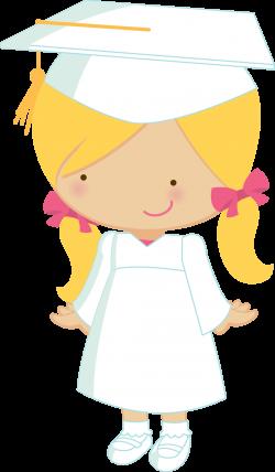 Little graduates - ZWD_Girl_02_white.png - Minus | clipart ...