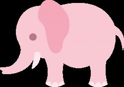 Little Pink Elephant Clip Art - Free Clip Art