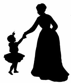 Mother Child Silhouette at GetDrawings.com | Free for personal use ...