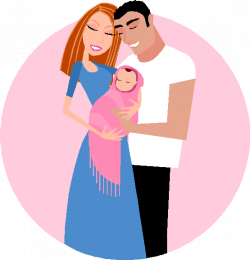 28+ Collection of Mother Father And Baby Clipart | High quality ...