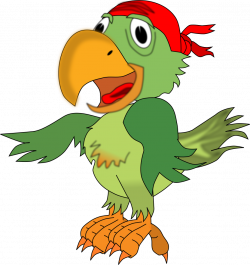 Pirate Parrot Clipart - Free Clip Art Images | DESEN | Pinterest ...