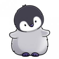 Baby Penguin - Lots of clip art on this site | Cute ...