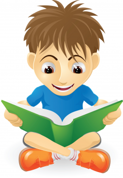 Child reading reading clipart 7 - WikiClipArt