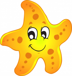 28+ Collection of Yellow Starfish Clipart | High quality, free ...