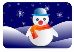 Winter Clipart - Snowy Scenes, Winter Sports & Other Seasonal Graphics