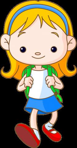 School Children 135.png | Pinterest | Clip art, Cartoon kids and School