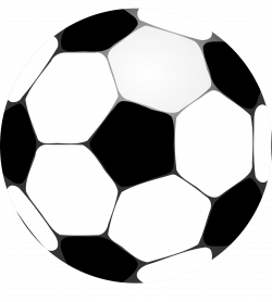 Soccer Ball Clip Art Black And White | Clipart Panda - Free Clipart ...