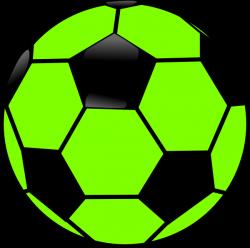 Green And Black Soccer Ball Clip Art at Clker.com - vector clip art ...