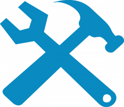 Hammer And Wrench Silhouette PNG, SVG Clip art for Web - Download ...
